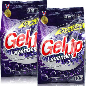 Gel Up lavender laundry detergent 10kg x 2pcs