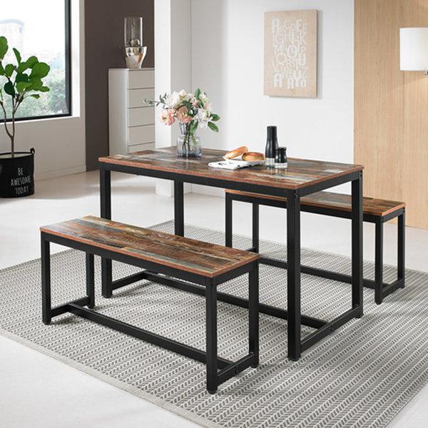 KM-T5120 빈티지 테이블 1200/ 책상/ 식탁/ 티 테이블 상품이미지