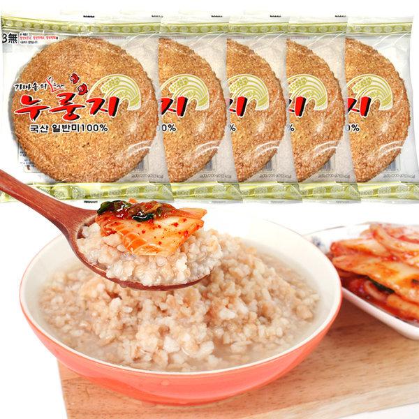 HACCP/참좋은 누룽지(200g10봉)/보리누룽지/국산쌀 상품이미지