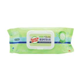 대형 베이직 물걸레 더블액션 청소포 30매