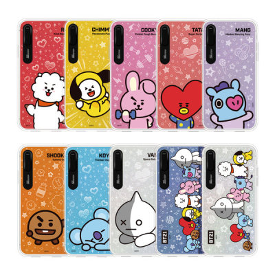 BT21 iPhone BASIC character graphic light up case /official product