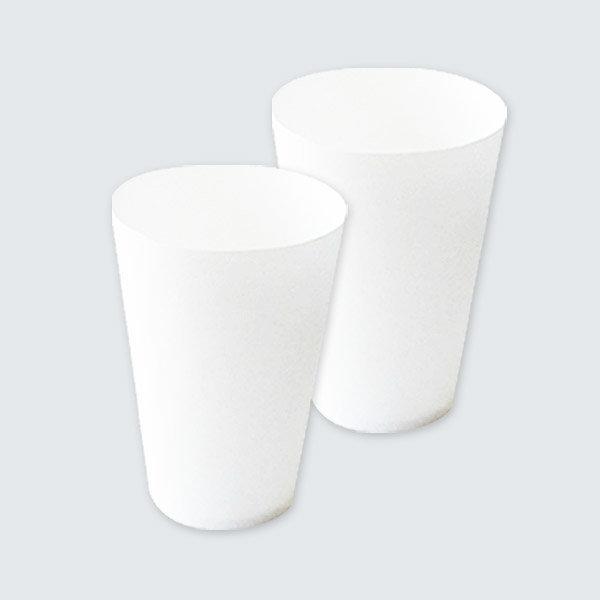 무형광 천연펄프 세모금컵 2000매 정수기컵 일회용컵 상품이미지