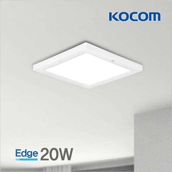 LED 다은엣지 현관센서등(원형/사각) 20W (10인치) 상품이미지