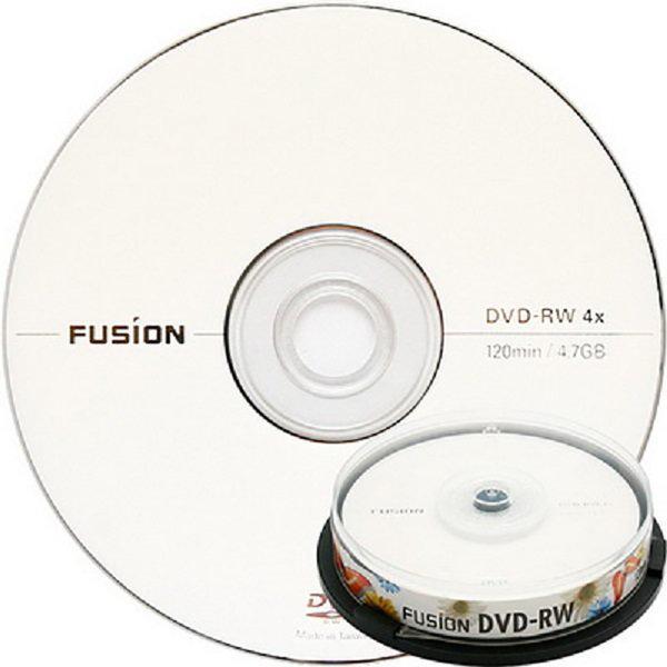 무료배송 퓨전 DVD-RW 4배속 4.7GB (케이크10장) 상품이미지
