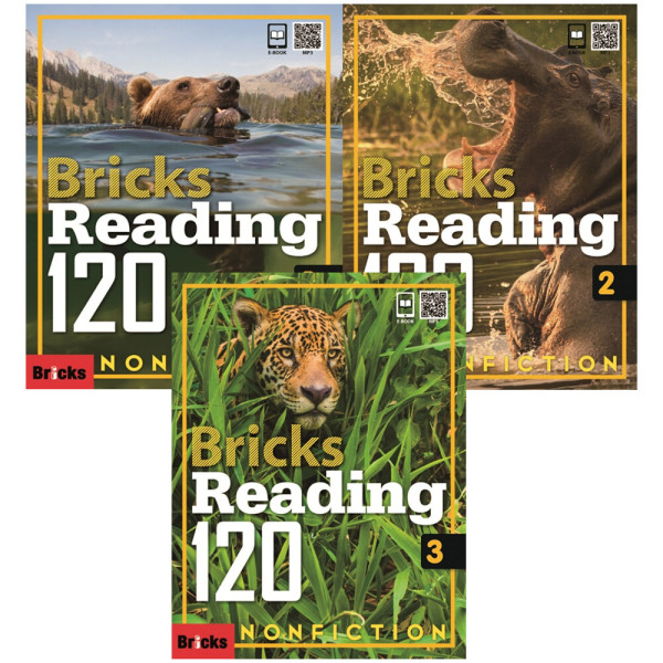 Bricks Reading 120 Nonfiction 1 2 3 / 전3권+ 휴대폰거치대증정 상품이미지