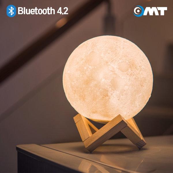 OMT 달 조명 LED 무드등 블루투스스피커 OBS-M144 상품이미지