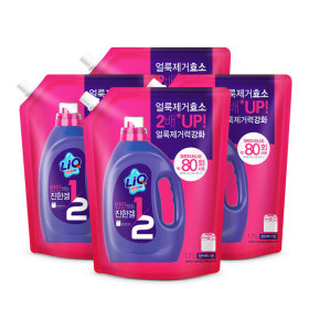 액체세탁세제 반만쓰는 리큐 1.7Lx4개(일반용)