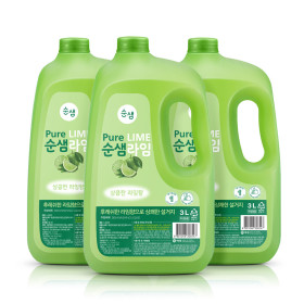 주방세제 순샘 대용량 3L x2개(라임)