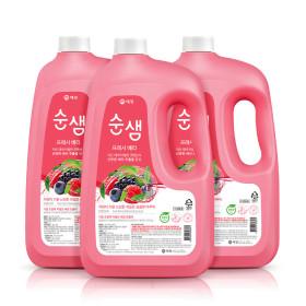 주방세제 순샘 대용량 3L x2개 (베리)