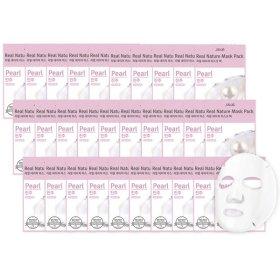 리얼 진주 네이쳐 마스크팩 30매 특가 미백주름개선