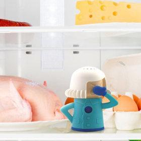 냉장고청소 악취제로 냉장고 탈취제 블루화이트