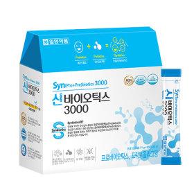 신 프로+프리바이오틱스 유산균 3000 1박스 (60포)