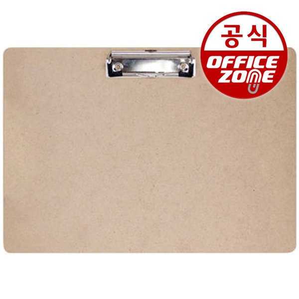MDF 클립보드 A4/가로 서류받침 사무용품 오피스용품 상품이미지