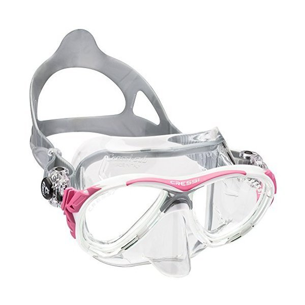 해외쇼핑/Cressi Adult Small Inner Volume Scuba Diving mask made in the revolutionary Crystal silicon 상품이미지