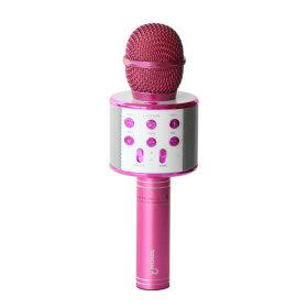 블루투스 무선 마이크 BTS-40KM /핑크/음성변조기능
