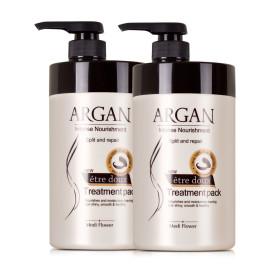 etre doux ARGAN Treatment hair pack 1+1 Total 2000m