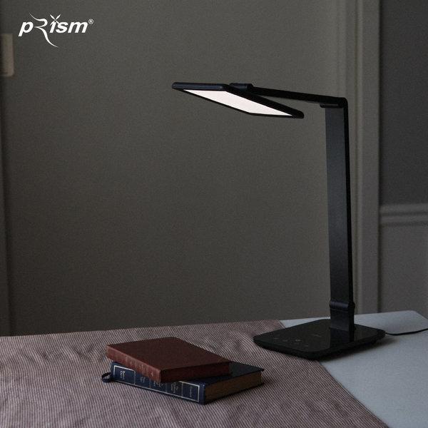 프리즘 책상 LED 스탠드 PL-3000블랙 (면광원) 상품이미지