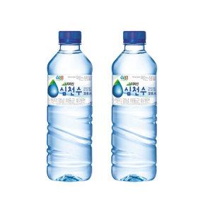 정식품 심천수 샘물 500mlx40 신제품 생수 행사