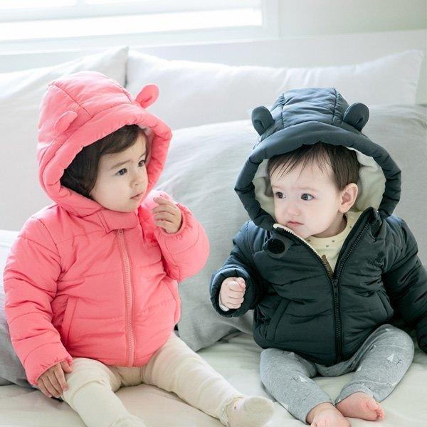 도톰 곰돌이 유아 패딩점퍼(6개월-4세) 203710 상품이미지