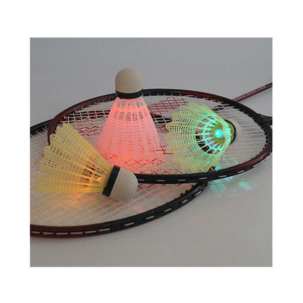 셔틀콕 배드민턴 공 용품 인조 고무 깃털 LED 야광 상품이미지