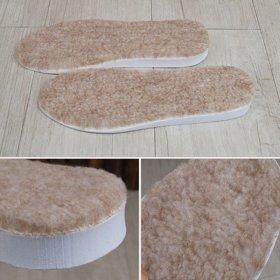 국산 밍크깔창1.5cm(털깔창 양털 신발 구두 운동화)