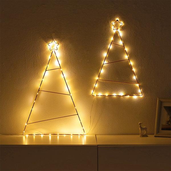 스타벽트리50/LED/겨울무드등/트리조명 크리스마스 상품이미지