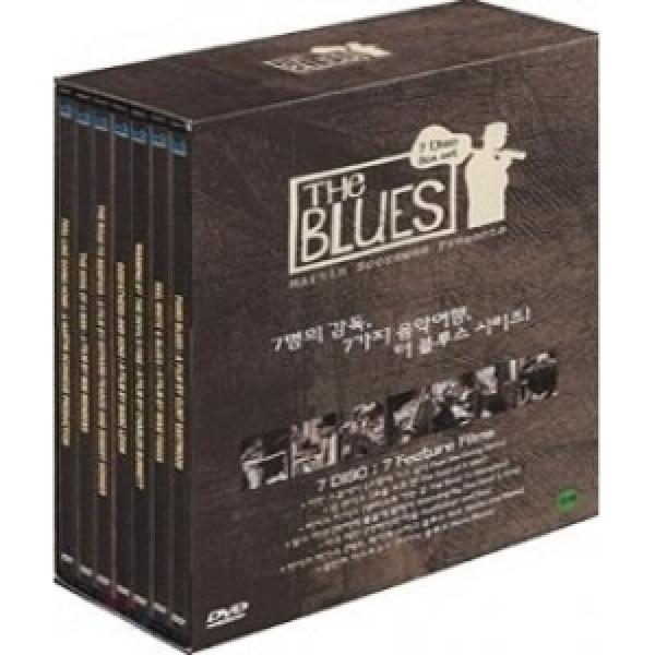 더 블루스 (The Blues) DVD박스셋/블루스 다큐무비/슬림케이스(7DISC)  재출시판 상품이미지