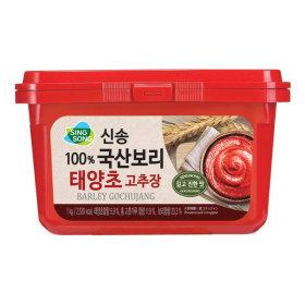 100%국산보리 태양초 고추장 1KG