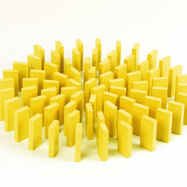 무지개 원목 도미노100pcs 리필용(노랑) 상품이미지
