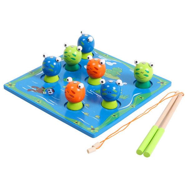 원목 개구리 낚시놀이/장난감 상품이미지
