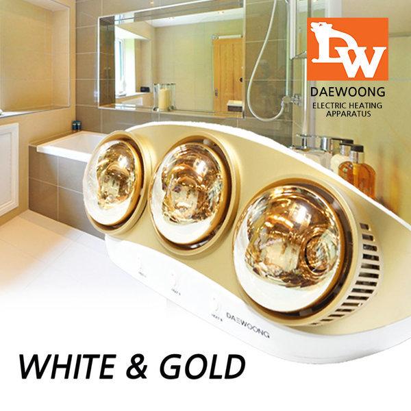 DW욕실히터 욕실난방기 벽걸이 전기난로 히터 온열기 상품이미지