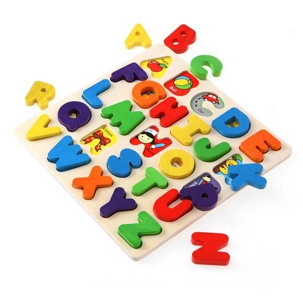 원목교구 알파벳 입체 퍼즐/판퍼즐 상품이미지