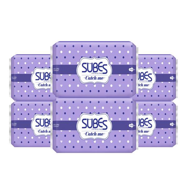 슈베스 생리대 캐치미 슬림 슈퍼롱오버나이트 6매x4팩 상품이미지