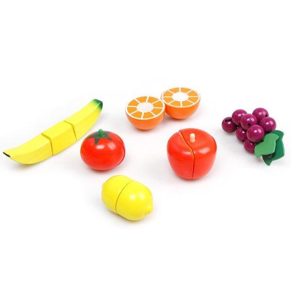 원목 소꿉자르기 과일6종세트 상품이미지