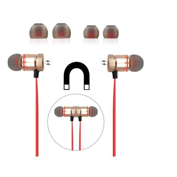 고품질 스포츠 Bluetooth 무선 이어폰 - 레드 상품이미지