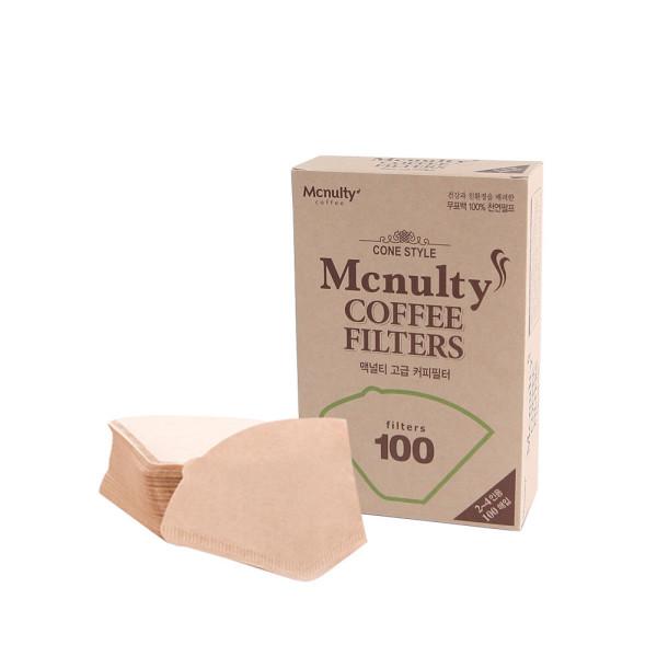맥널티 커피여과지 100매 핸드드립 커피필터 30매 상품이미지