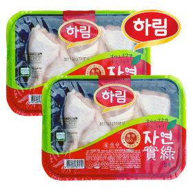 친환경 무항생제 자연실록 닭다리 400g 2봉