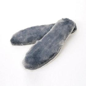 아동 털깔창-그레이(양털 방한 신발 구두 깔창 운동화