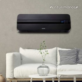 벽걸이 퓨어블랙PTC 전기 온풍기/전기히터/전기난로