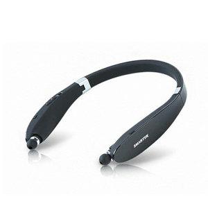[스마텍]STBT-2100 (블랙) 블루투스 넥밴드 이어폰 이어셋