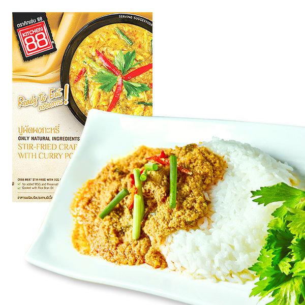 태국음식 푸팟퐁커리 게살 카레 3분요리 상품이미지