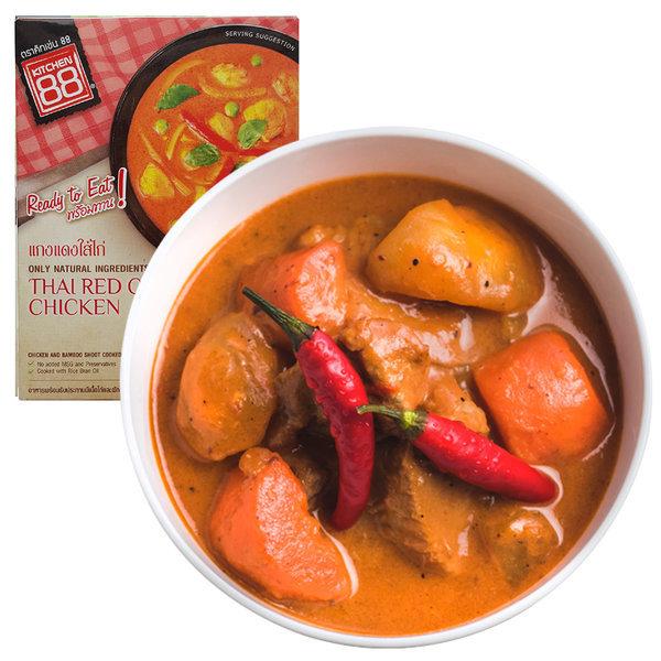 태국음식 레드 치킨 카레 3분요리 상품이미지