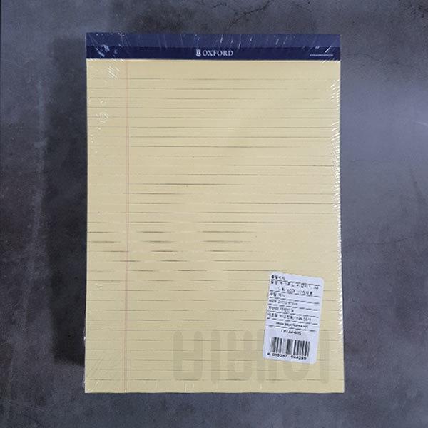 (무료배송) 옥스포드 리갈패드 A4 40매 - 노랑 20권 상품이미지