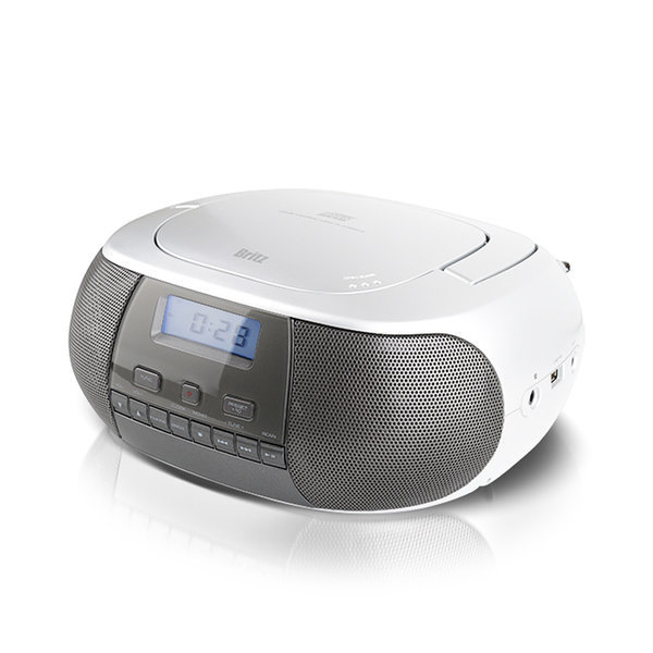 BZ-CDPR2100 휴대용 MP3 CD플레이어 라디오 USB 화이트 상품이미지