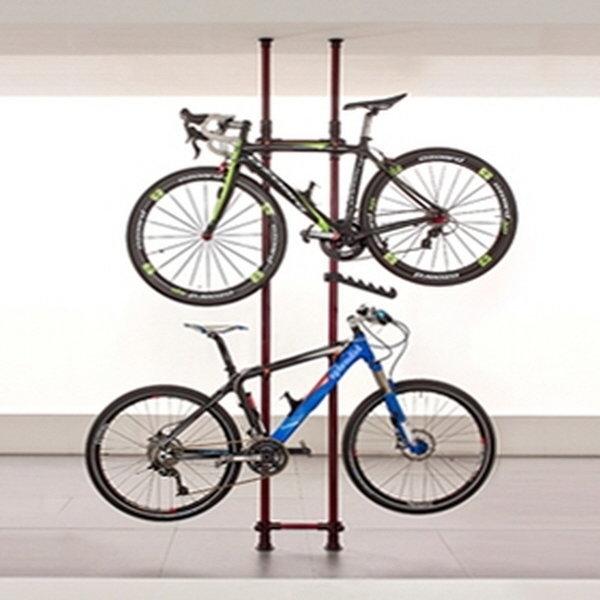 (크랭키 자전거거치대 와인) 자전거행거 자전거보관 상품이미지