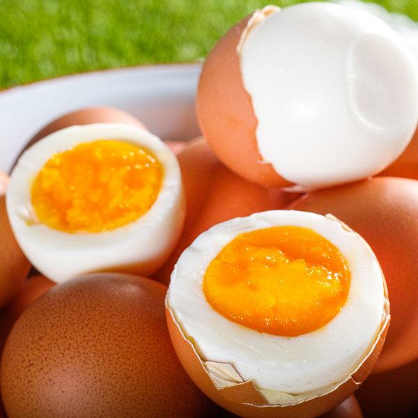 무항생제 계란으로 만든 아산맑은 온천 반숙란 30구 상품이미지