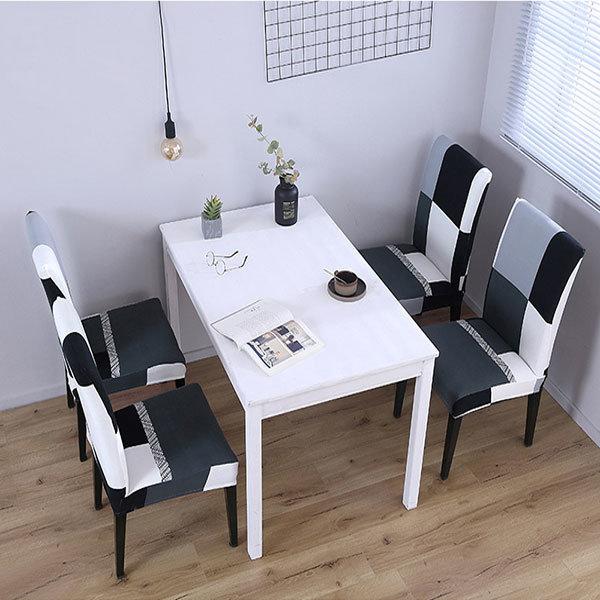 MAMA베리 깔끔한디자인의자커버 의자리폼 식탁의자커버 상품이미지