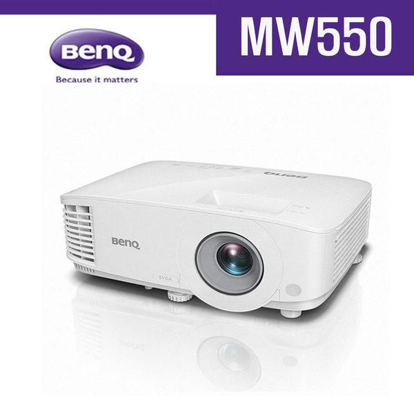 벤큐-회의용-강의용-프로젝터-MW55-3600안시-WXGA 상품이미지