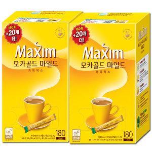 [맥심]모카골드/화이트골드 340T~400T/커피믹스/커피/라떼