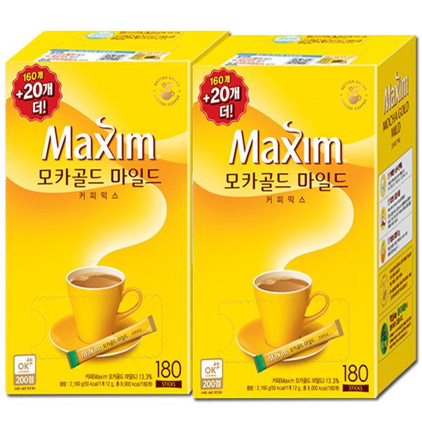 (할인가31900원)모카/화이트 340T/320T/커피믹스/커피 상품이미지
